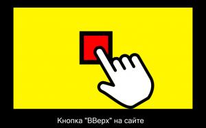 кка сделать кнопку ВВерх