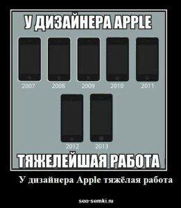 креативный дизайн продукции apple