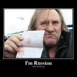 Жерар Депардье – новый русский