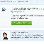 Как поменять юзер-агент в браузере